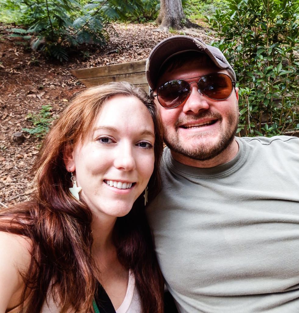 Selfie at the Zoo