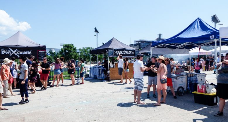 Food Vendors at Smorgasburg