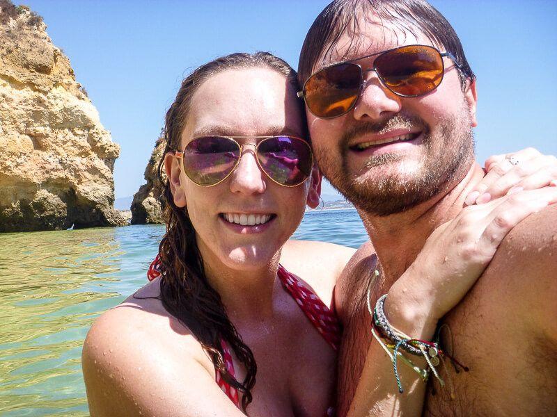Selfie at Camilo Beach