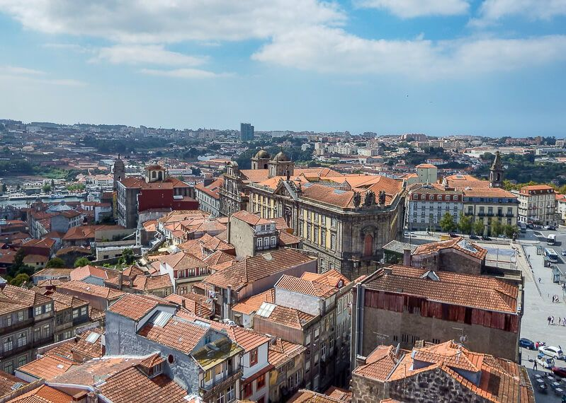 Clerigos Tower in Porto, Portugal