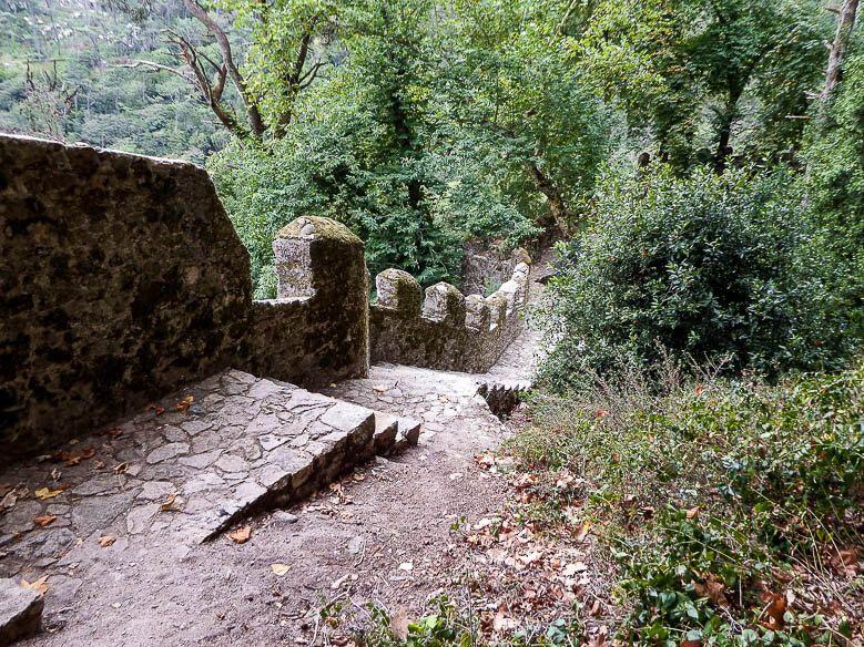 Castelo dos Mouros Wall