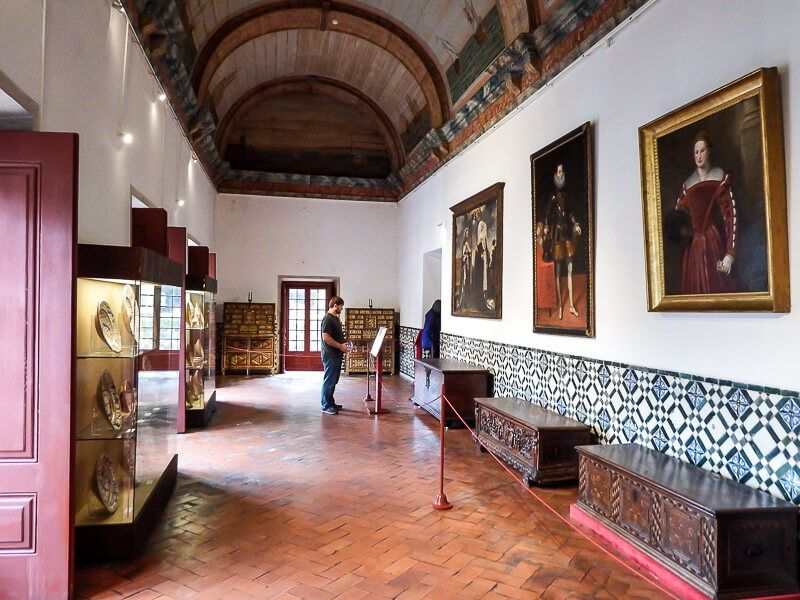 Sintra's National Palace Galley Room