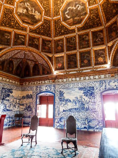 Sintra's National Palace Coats of Arms Room