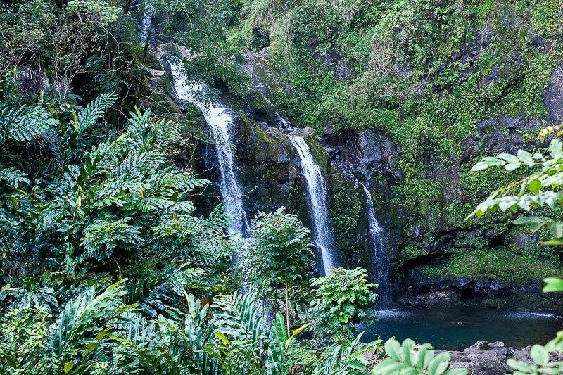 Road to Hana Guide: Three Bears Falls