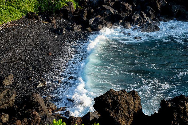Camping on Maui at Waiʻanapanapa State Park