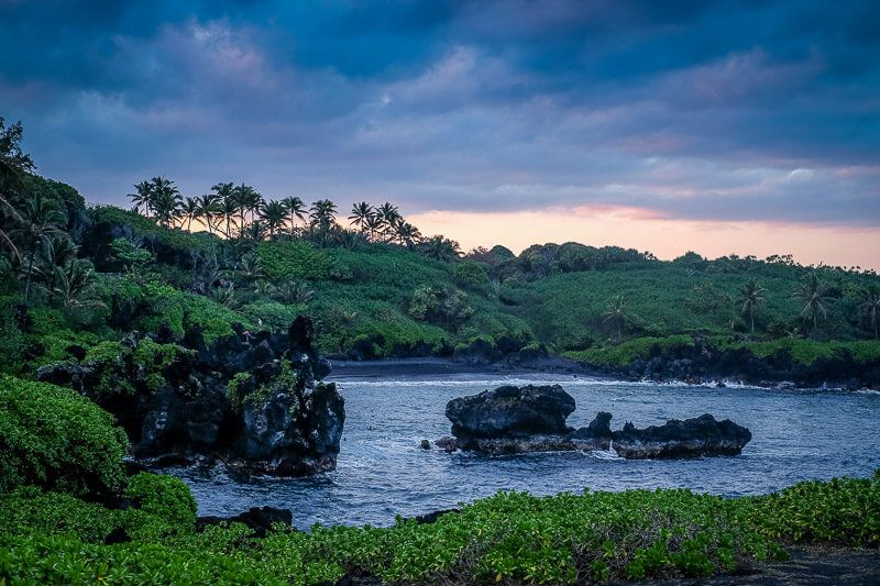 Camping on Maui at Waiʻanapanapa State Park