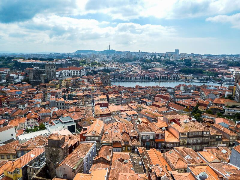 From the Clerigos Tower: Porto, Portugal