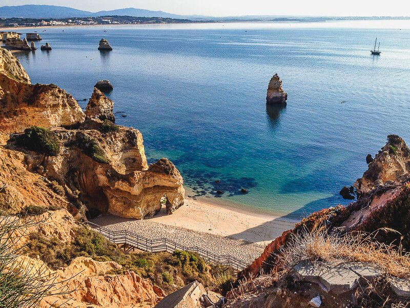 Portugal Itinerary: Lagos Coastline