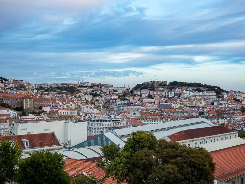 Miradouro in Lisbon, Portugal