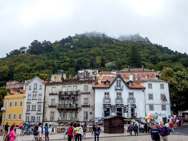 Portugal Itinerary: Castelos dos Mouros in Sintra