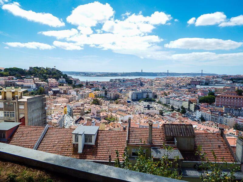 Lisbon, Portugal: Miradouro