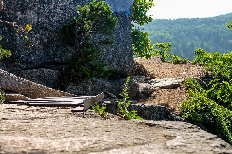 Hiking The Beehive Trail