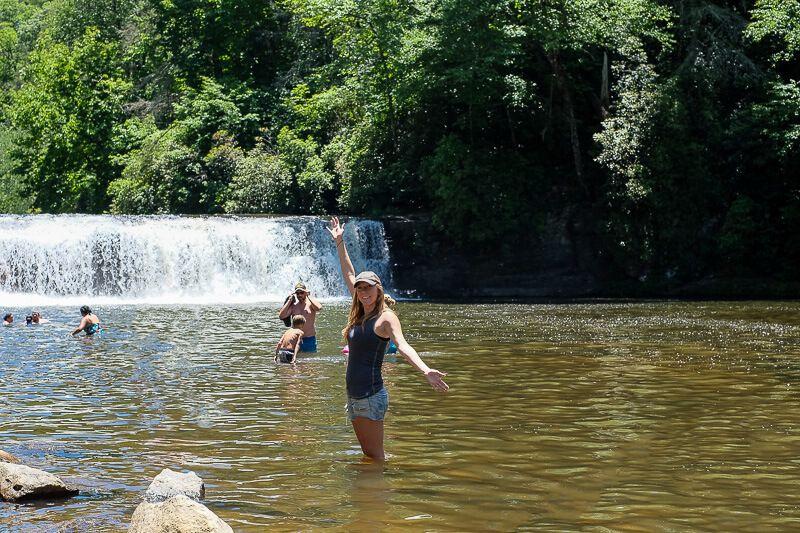 Dupont State Forest: Hooker Falls