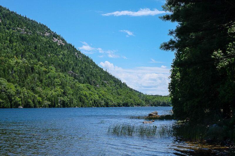 Acadia National Park: Bubble Pond
