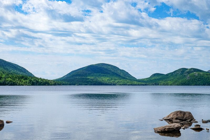 Biking Acadia National Park: Eagle Lake