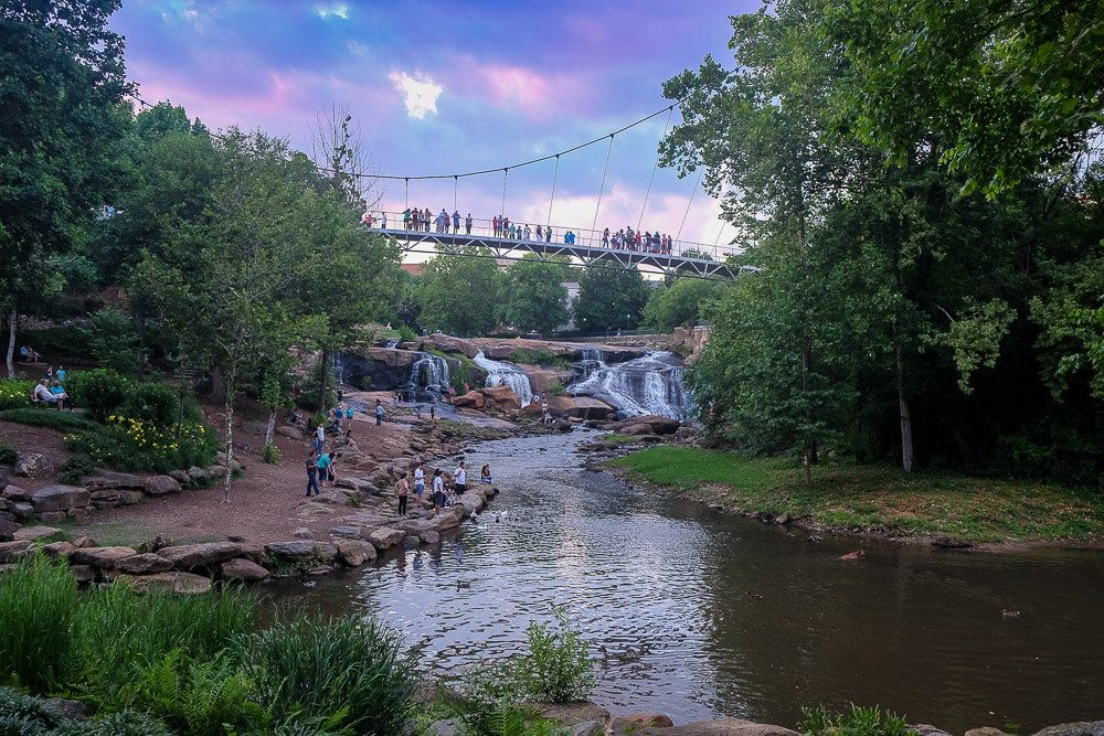 Things to do in Greenville in Summer: Falls Park