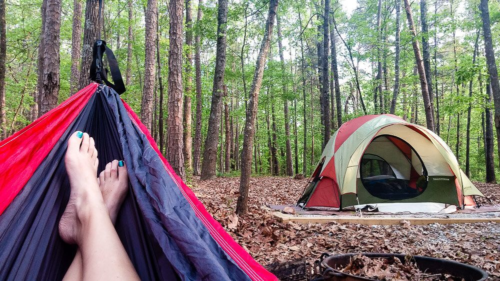 Things to do in Greenville in Summer: Camping