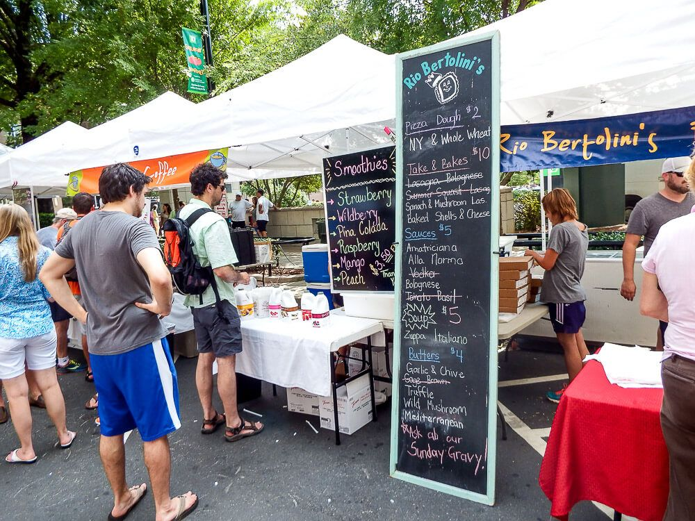 Things to do in Greenville in Summer: TD Saturday Market