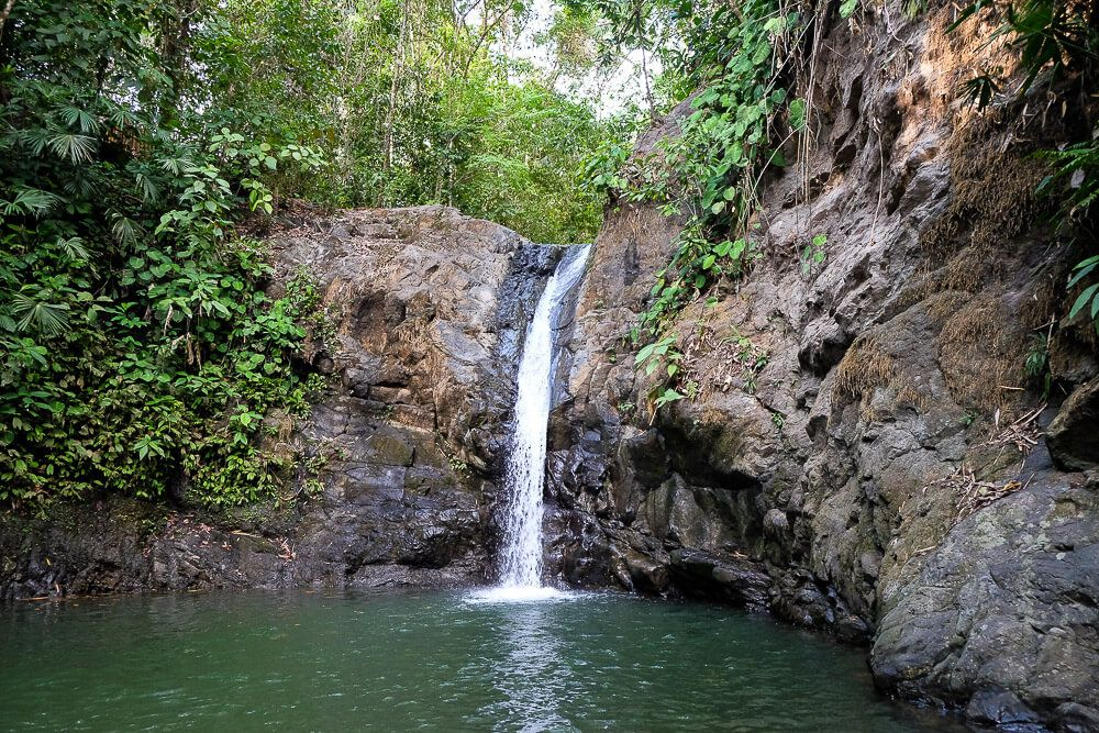 Waterfalls in Uvita: Uvita Waterfall