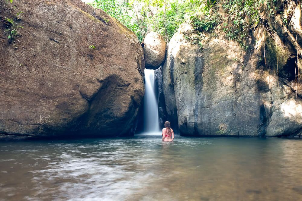 Waterfalls in Uvita: Cascada El Pavon