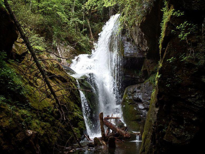 Lake Jocassee Waterfalls