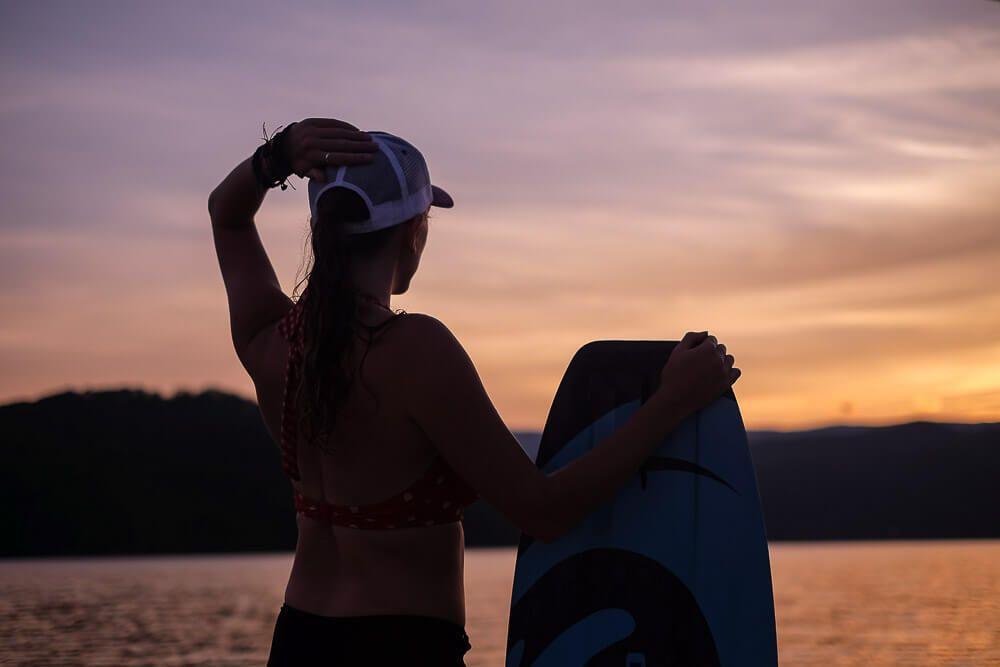 Wakeboarding at Lake Jocassee