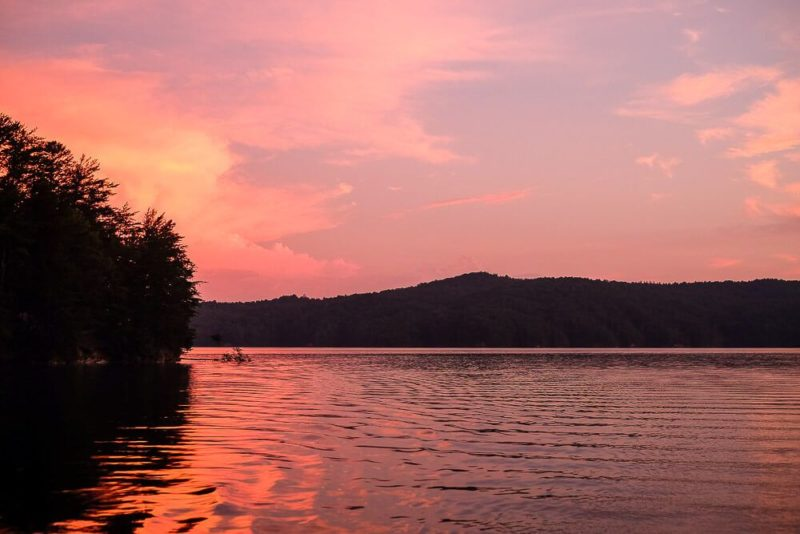 Lake Jocassee Boat-In Camping