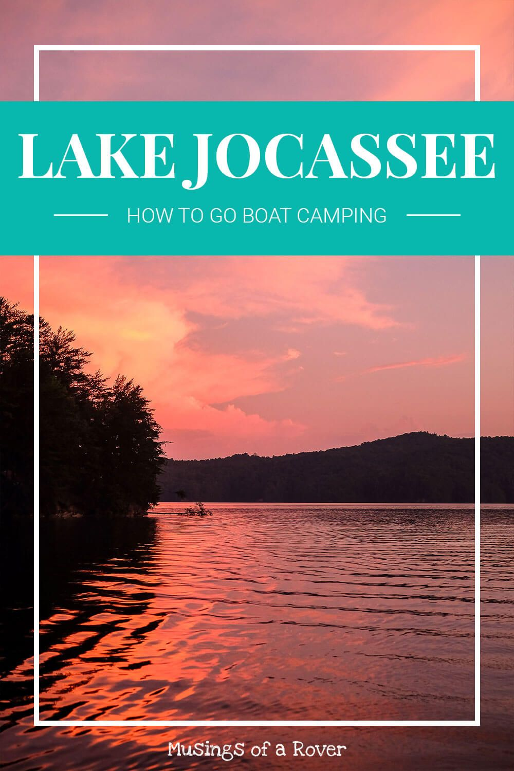 Lake Jocassee is beautiful, clear, and relatively quiet quite lake in the mountains of South Carolina. It also has boat-in campsites. Find out which campsite to reserve and what to expect when you go boat camping here.