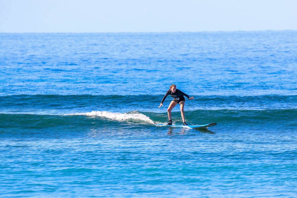 Surfing in Maui