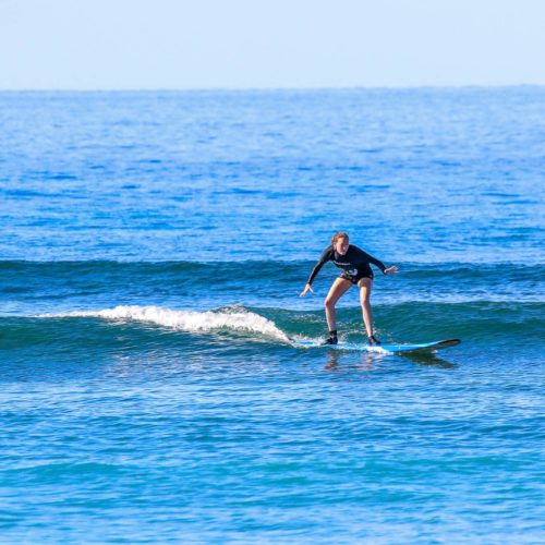 Learning to Surf with Maui Surfer Girls
