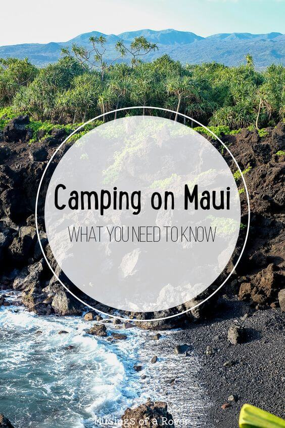 Waianapanapa State Park is one of the must-see spots on the Road to Hana. But what about staying overnight there? Find out what you need to know to go camping on Maui!