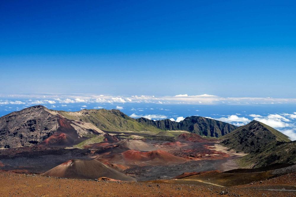 Hiking Haleakala
