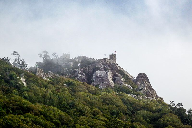 Castelos dos Mouros in Sintra, Portugal