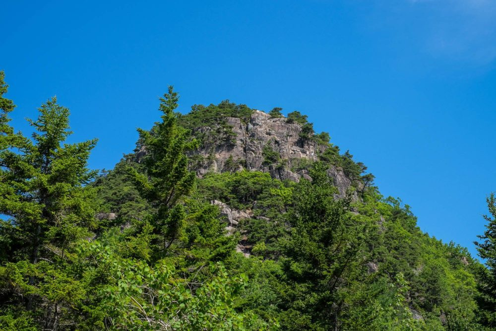 Hiking the Beehive in Acadia National Park
