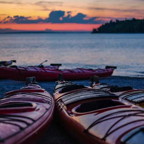 Sea Kayaking in Bar Harbor, Maine