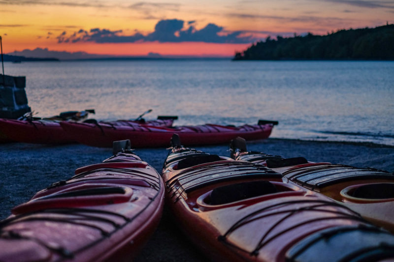 Sea Kayaking in Bar Harbor, Maine