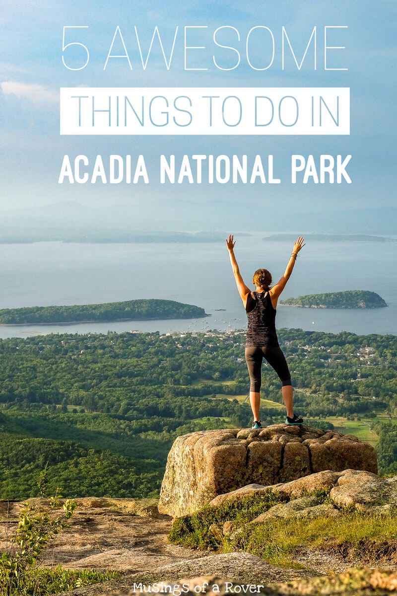 Heading to Bar Harbor or Acadia National Park? Don't miss these main stops! You'll drive the Park Loop Road, bike the carriage roads, hike Acadia's trails, eat at the Jordan Pond House, and experience Cadillac Mountain.
