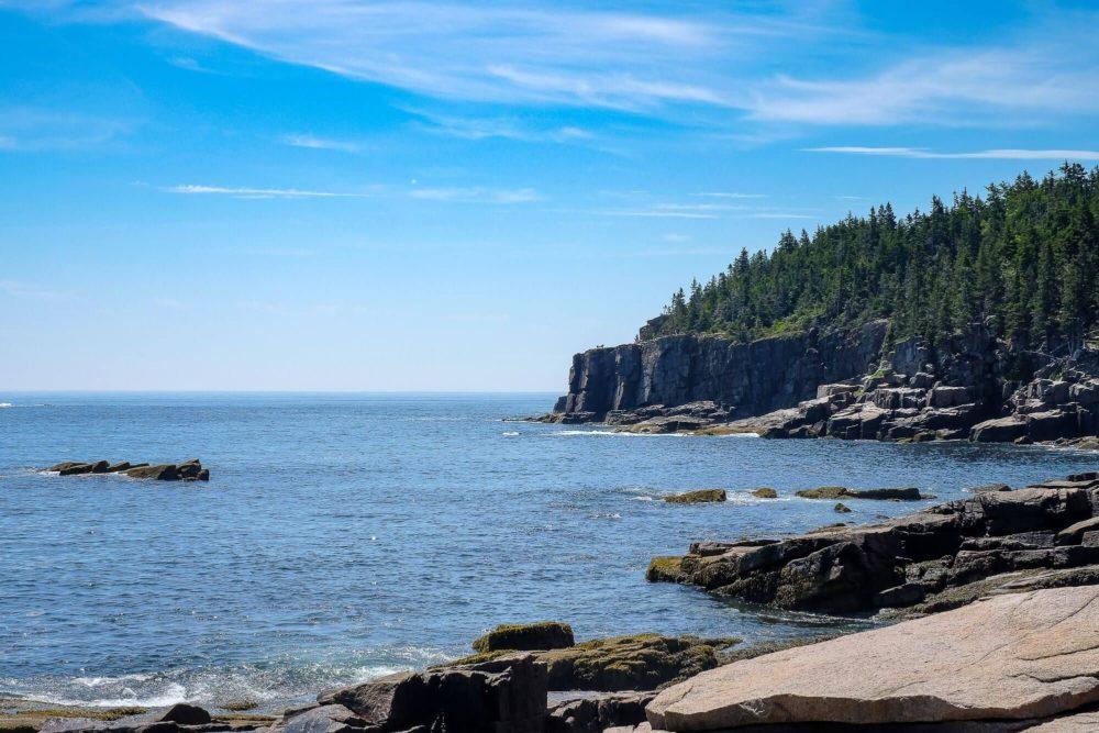 Rock Climbing in Acadia National Park