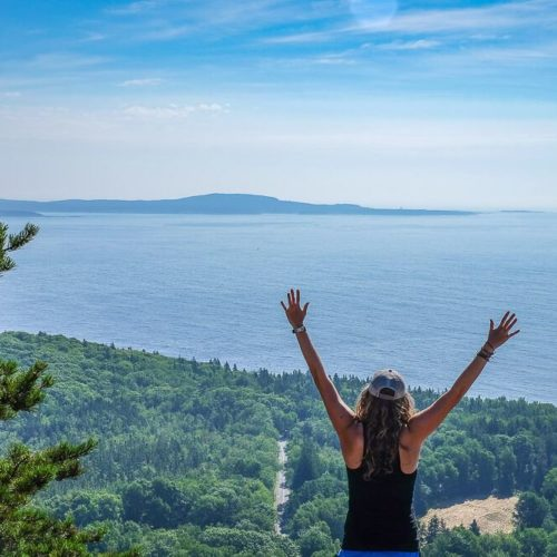 Things to do in Acadia National Park: Hiking the Beehive