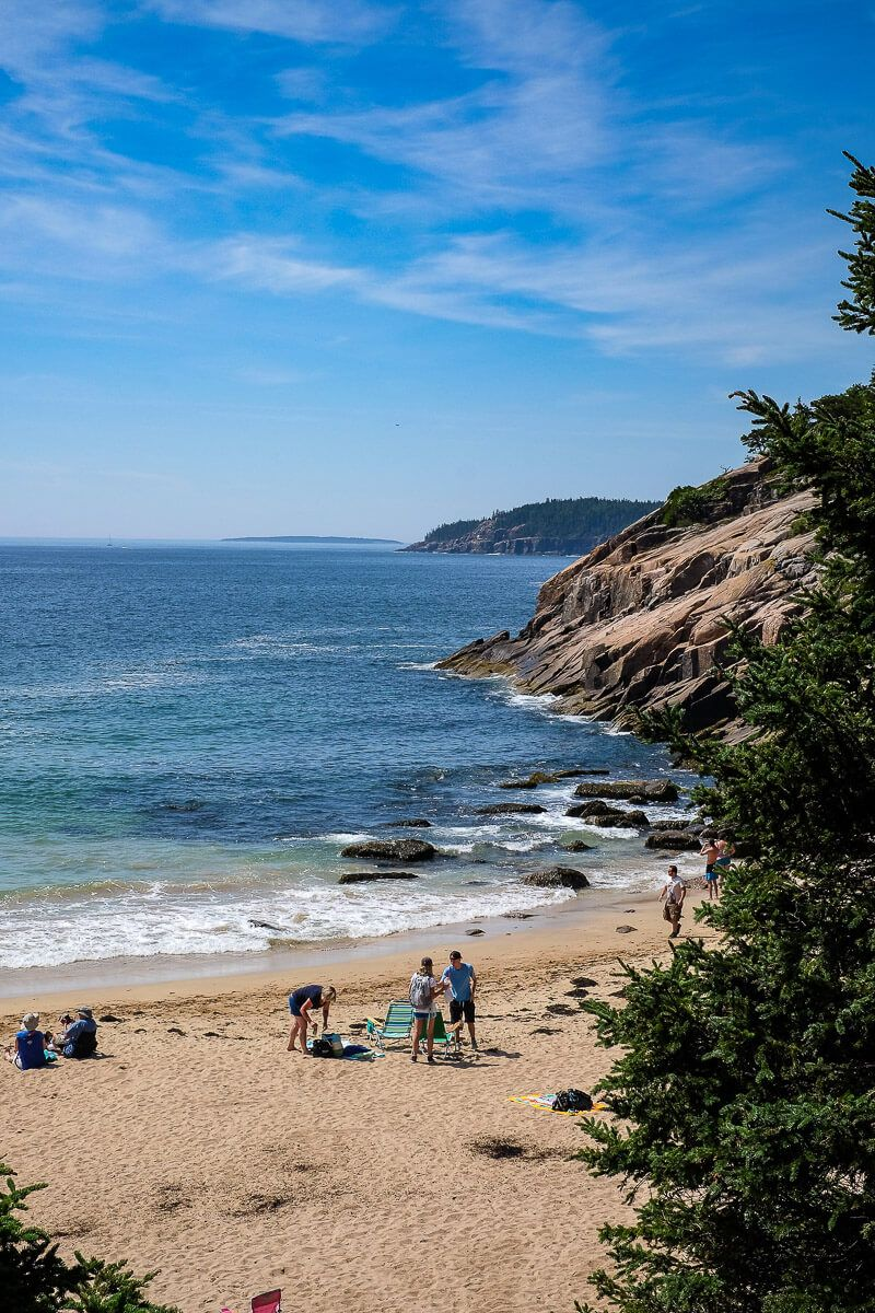 Things to do in Acadia National Park: Sand Beach