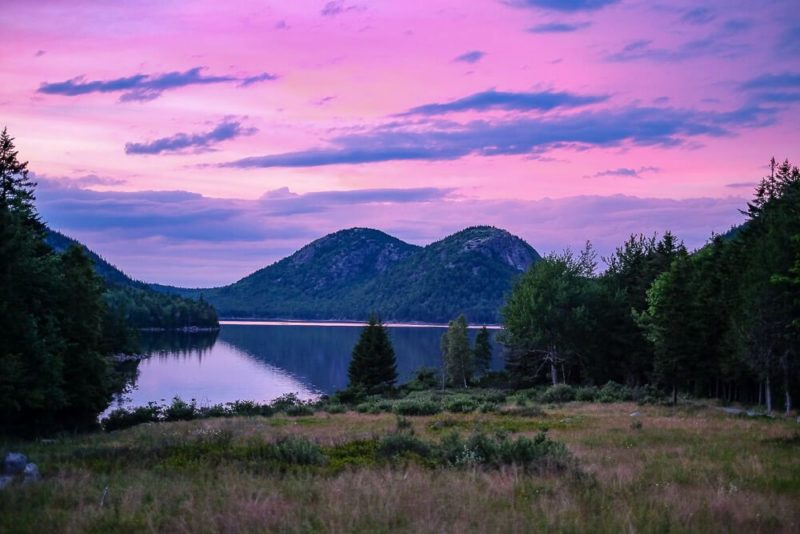 Bar Harbor Itinerary: Jordan Pond
