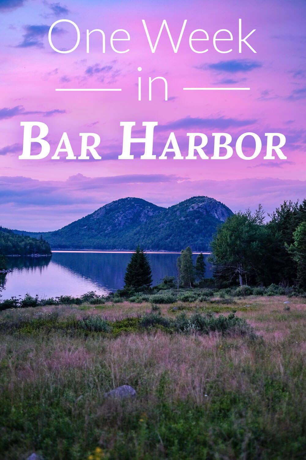 Heading to Bar Harbor, Maine or Acadia National Park? This itinerary will give you everything you need to know to make your visit memorable. Includes highlights like whale-watching, rock climbing, scenic drives, Cadillac Mountain, hiking, and more.