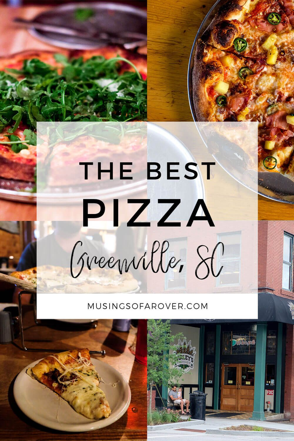 Looking for the Best Pizza in Greenville, SC? Head to Sidewall Pizza, Barley's Pizza, Vic's Pizza, & Stone Pizza Company.
