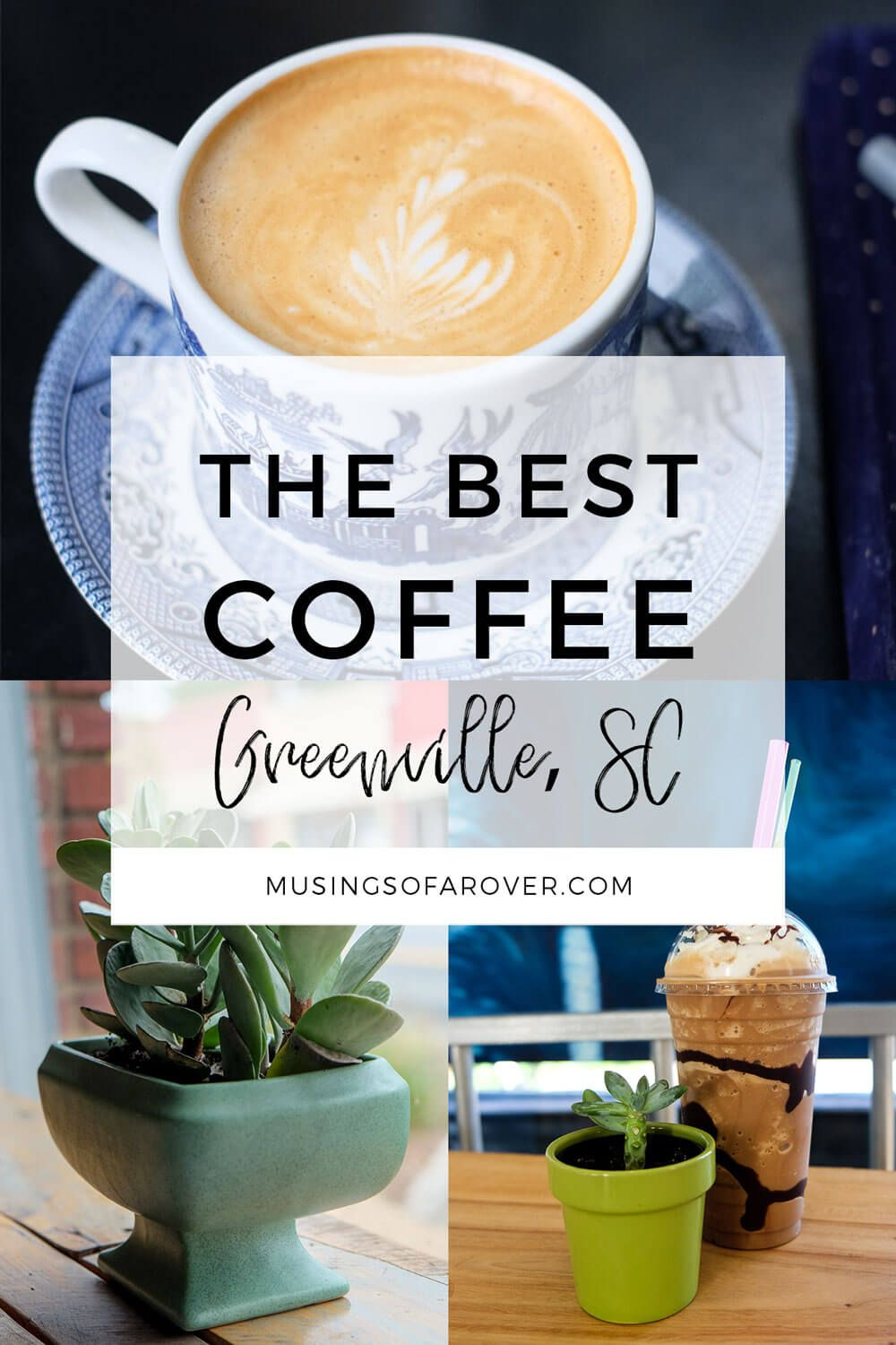 Looking for the best coffee in Greenville South Carolina (Greenville SC)? Head to Coffee Underground, Methodical, The Village Grind, Espresso 101, West End Coffee Shop, and Joe's Place. travel tips, travel advice, greenville sc things to do, greenville south carolina things to do