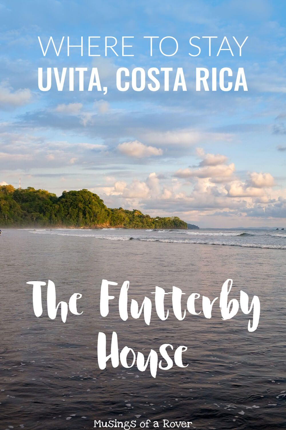 Uvita, Costa Rica has a handful of accomodation options but there is one Uvita hostel you need to try: The Flutterby House. Private treehouses, dorms, cabins, great food, lively bar, amazing staff, 2 blocks from the beach, surf lessons, and more. Need I go on?