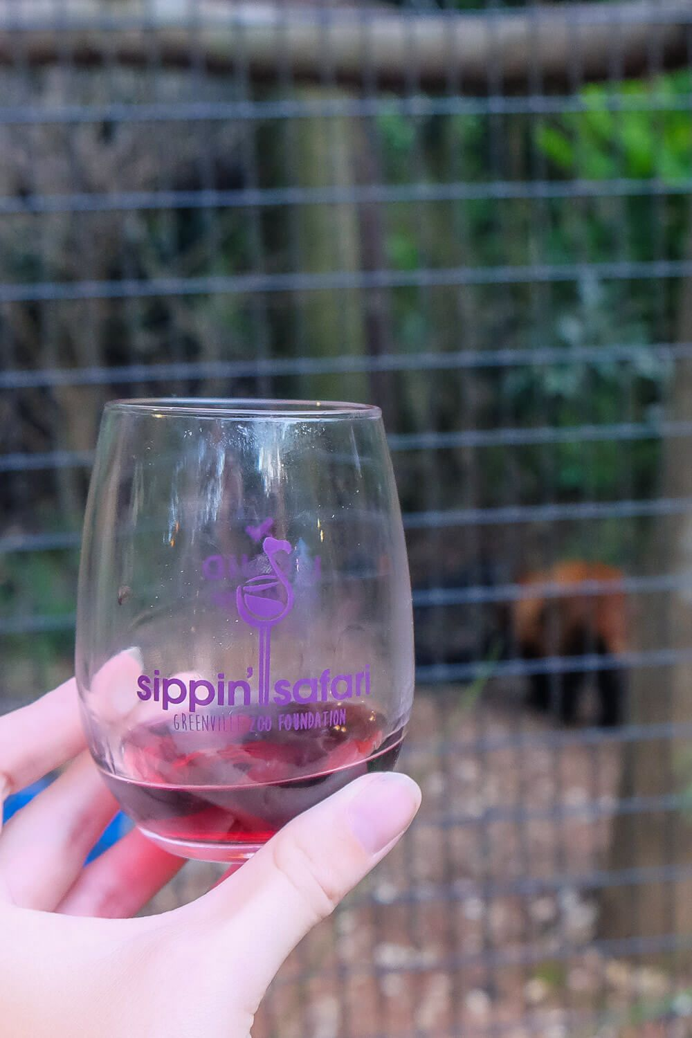 Sippin Safari at the Greenville Zoo