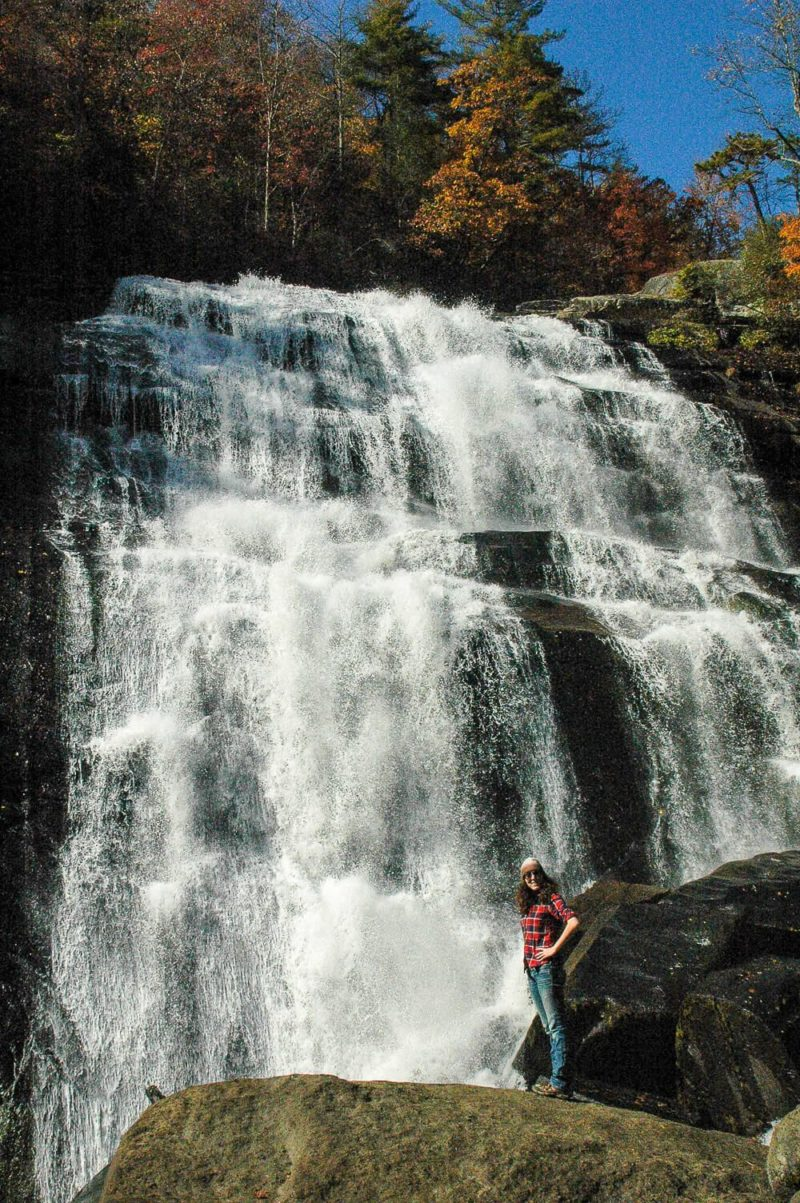 greenville in fall - gorges state park