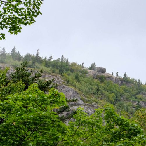 Hiking The Bubble Rock Trail