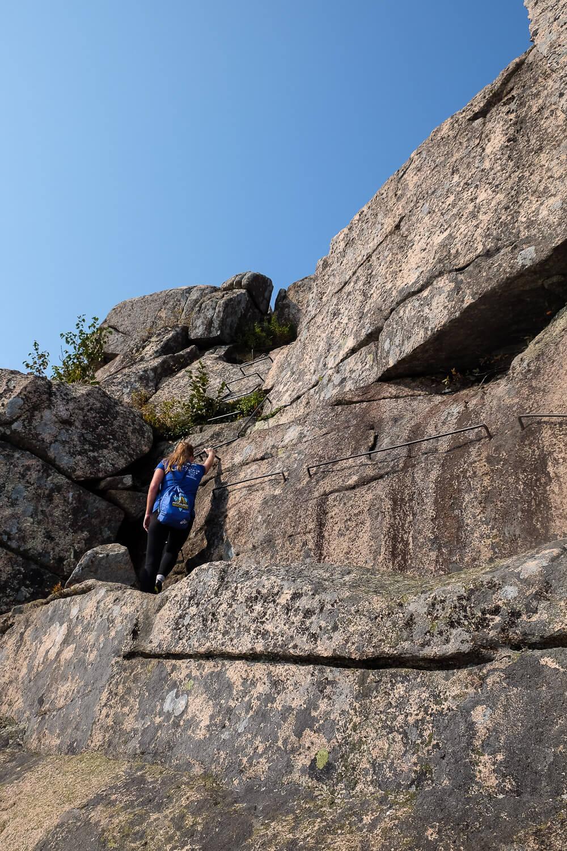 Hiking the Precipice Trail