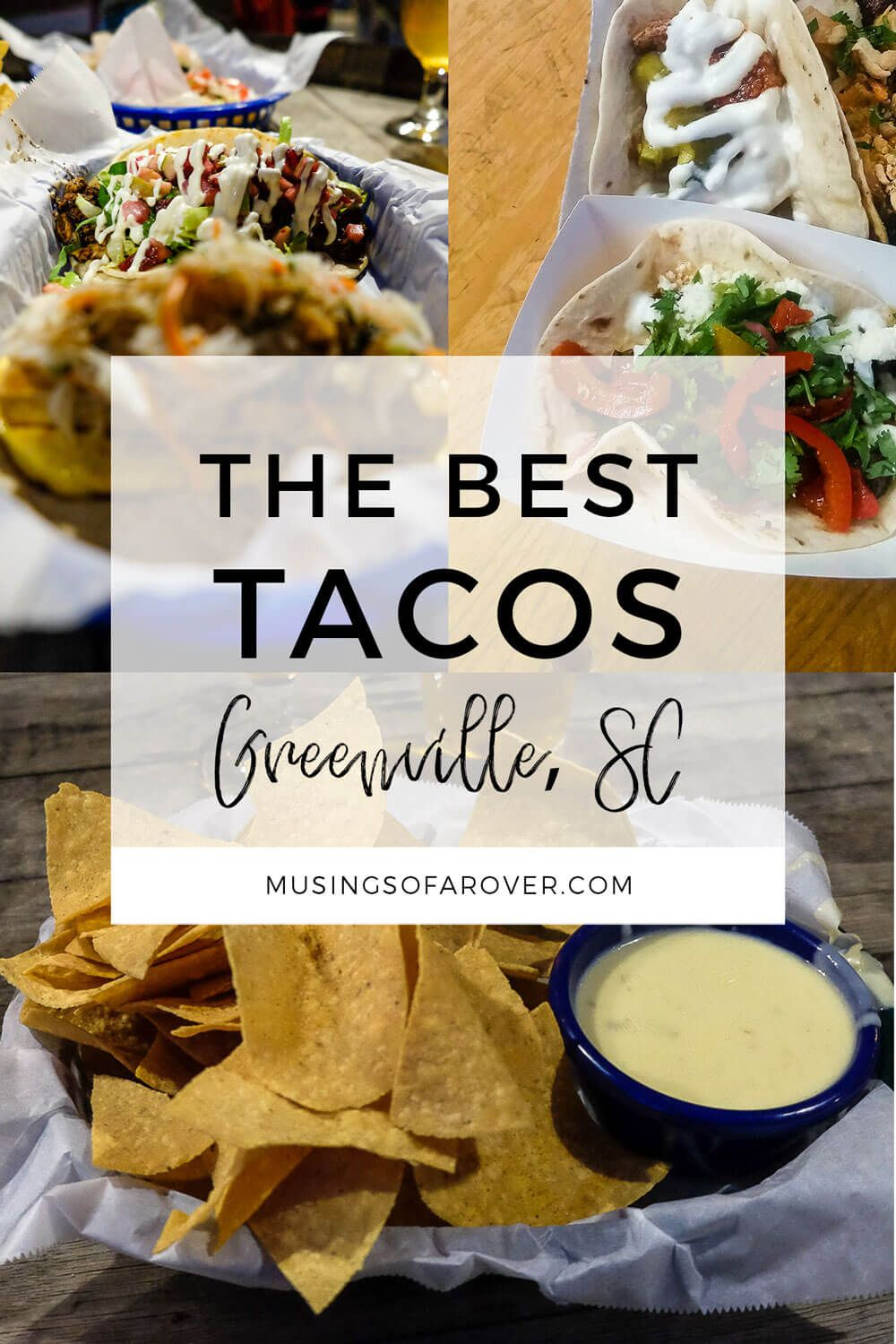 Looking for the best tacos in Greenville South Carolina (Greenville SC)? Head to White Duck Taco, Farmhouse Tacos, Automatic Taco, Willy's & Cantina 76. greenville, greenville south carolina, greenville sc things to do in, greenville south carolina things to do, greenville travel, greenville south carolina downtown,